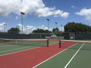 Spring Creek Oaks Tennis Courts